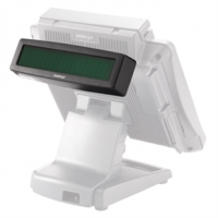 kupit-POS-Поул дисплей Posiflex PD-300R-B LCD нависной дисплей покупателя, длина 300 мм (PD-300R-B)-v-baku-v-azerbaycane