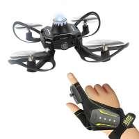 Quadcopter (Drone) Əlcək ilə (Volcano)