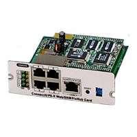 Сетевая карта Dispositivo de Conectividad para UPS ConnectUPS-X Web/SNMP (39J4824)