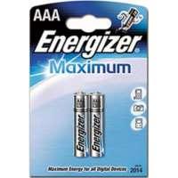 Batareyalar Energizer battery Maximum AAA(2) LR03