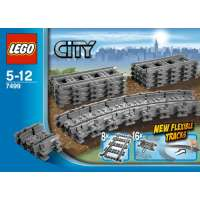 KONSTRUKTOR LEGO City Flexible Tracks (7499)
