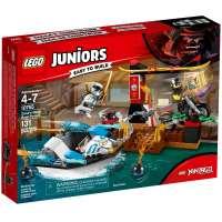 КОНСТРУКТОР LEGO Juniors Погоня на моторной лодке Зейна (10755)