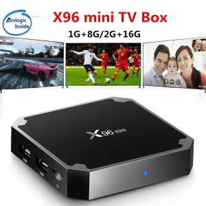 Медиаплеер Android TV Box X96 mini 4K 1/8