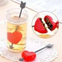Заварник для чая в форме сердца