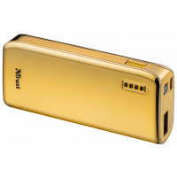 Portativ şarj cihazı (Power Bank) Trust Powerbank 4400 Portable Charger, Gold (20901)