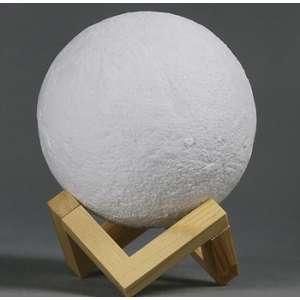 3D Ночник в форме луны с освежителем воздуха