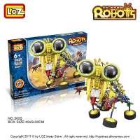 kupit-Электромеханический КОНСТРУКТОР LOZ Ox-Eyed Robots (3025)-v-baku-v-azerbaycane