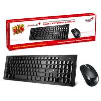 Keyboard mouse Wireles Genius SlimStar 8008