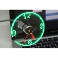 kupit-USB Вентилятор - Часы-v-baku-v-azerbaycane