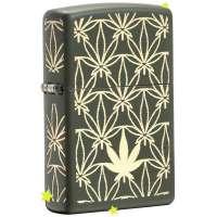 Зажигалка Zippo All Around Leaf Design Laser