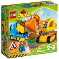 Конструктор Lego Truck and Tracked Excavator (10812)