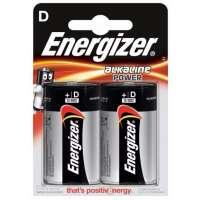 Batareyalar Energizer battery Alkaline D(2) LR20