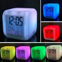 7 LED Светящиеся часы