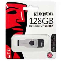 Флеш память USB Kingston 128 GB 3.0 DataTraveler SWIVL (DTSWIVL/128GB)