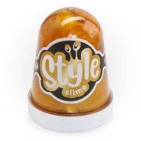 слайм Lori Style Slime 130мл Золотой с ароматом банана
