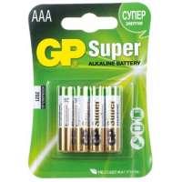 Batareyalar GP battery Super Alkaline AAA(4) 24A-2UE4