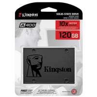 Внутренний SSD Kingston 120GB A400 SATA3 2.5 (SA400S37/120G)