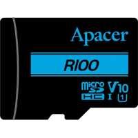 Карта памяти Apacer 32 GB microSDXC/SDHC UHS-I U1 Class 10 + SD adapter (AP32GMCSH10U6-R)