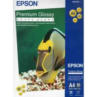 Paper EPSON Premium Glossy Photo Paper A4, 50 sheets (C13S041624)