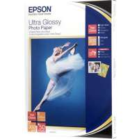 kupit-Бумага EPSON ULTRA  GLOSSY PHOTO PAPER 13x18 50 SHEET (C13S041944)-v-baku-v-azerbaycane