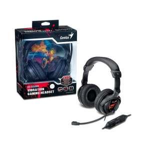 Наушник с микрофоном Genius HS-G500V, Vibration for game  (31710020101)