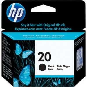 HP Картридж № 20 C6614D 28ml (черный)