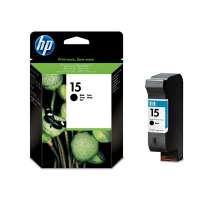 HP Картридж № 15 C6615D 25ml (черный)