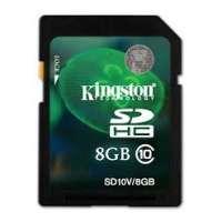 Карта памяти (SD) 8GB SDHC Class 10 Flash Card (SD10V/8GB)