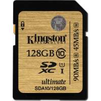 Карта памяти (SD) 128GB SDXC Class 10 UHS-I 90R/45W Flash Card (SDA10/128GB)