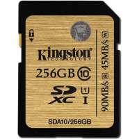 Карта памяти (SD) 128GB SDXC Class 10 UHS-I 90R/45W Flash Card (SDA10/256GB)