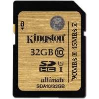 Карта памяти (SD) 32GB SDHC Class 10 UHS-I Ultimate Flash Card (SDA10/32GB)