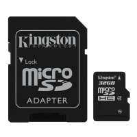 Карта памяти (SD) 32GB microSDHC Class 4 Flash Card (SDC4/32GB)