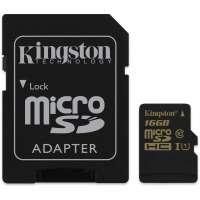 Карта памяти (SD) 16GB microSDHC CL10 UHS-I 90R/45W (SDCA10/16GB)
