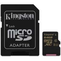 Карта памяти (SD) 64GB microSDHC CL10 UHS-I 90R/45W (SDCA10/64GB)