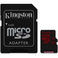 Карта памяти (SD) 64GB microSDXC UHS-I speed class 3 (U3) 90R/80W (SDCA3/64GB)