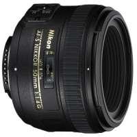 Фотообъектив Nikon AF-S 50mm f/1.4G