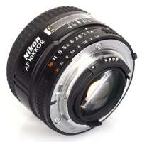 Фотообъектив Nikon AF 50mm f/1.4D