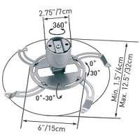 kupit-Кронштейн для проектора Barkan STANDART PROJECTOR CEILING MOUNT SILVER (90.S)-v-baku-v-azerbaycane